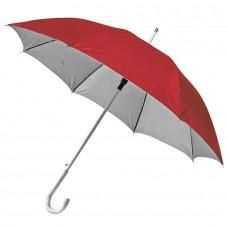 Зонт-трость SILVER, пластиковая ручка, полуавтомат