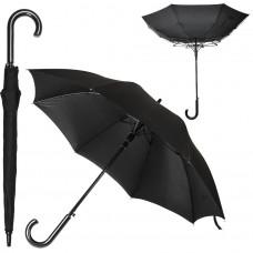 Зонт-трость ANTI WIND, пластиковая ручка, полуавтомат