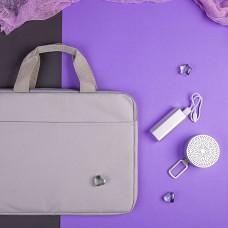 Набор подарочный CHERCHEZ LA FEMME: bluetooth-колонка, зарядное устройство, конференц-сумка, серый