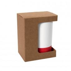 Коробка для кружки 26700, размер 11,9х8,6х15,2 см, микрогофрокартон, коричневый