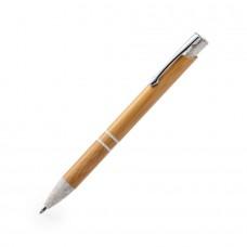 LETTEK, ручка шариковая, бамбук, пластик с пшеничным волокном, металл
