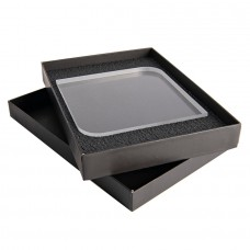 Награда QUADRA BRILANTE в подарочной коробке, грани с фаской, 150х150х25 мм, акрил