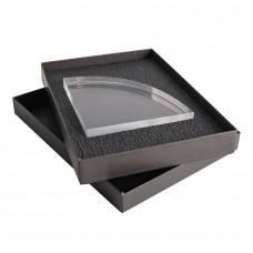 Награда SEGMENT в подарочной коробке, прямые грани матовые, дуга с фаской, 140х140х25 мм, акрил