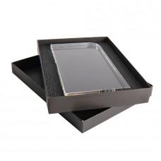 Награда STATUS в подарочной коробке, грани с фаской, 115х210х25 мм, акрил